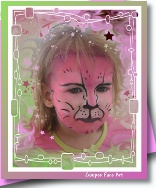 Ottawa birthday party face painting pink cat