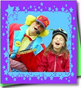 Ottawa clown kids birthday party magic show