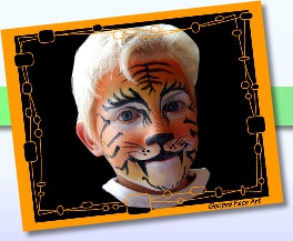 Ottawa face painting tiger